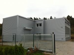 Neuer Firmensitz seit 27.10.2012 für heller und lauter Veranstaltungstechnik in Rodenbach (Kreis Kaiserslautern)